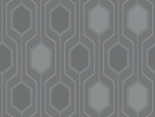 Обои устойчивые к мытью с приглушенным темным геометрическим орнаментом, Decorama Easy Up 2016, Архив, Моющиеся обои, Обои для квартиры, Распродажа