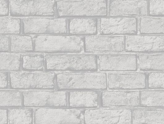Кабинетные обои с имитацией белого кирпича, Decorama Easy Up 2016, Архив, Обои для кабинета, Обои для квартиры, Распродажа