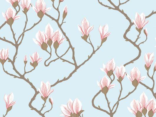 Обои art 72/3011 Флизелин Cole & Son Великобритания, Patina, The Contemporary Collection, Английские обои, Обои для спальни, Обои с цветами, Распродажа