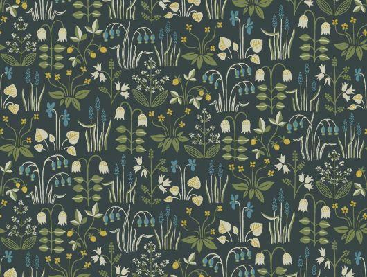 Обои art 7214 Флизелин Boråstapeter Швеция, In Bloom, Обои для квартиры