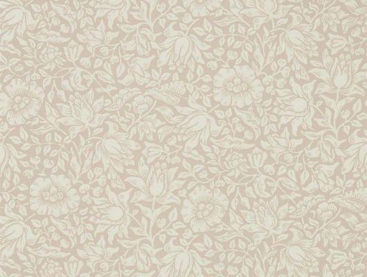 Выбрать бумажные обои арт. 216675 из коллекции Melsetter от Morris темно-розового цвета с цветами гибискуса в интернет-магазине., Melsetter, Бумажные обои, Обои для гостиной, Обои для спальни