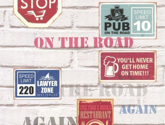Aura Les Aventures 111160910A обои с изображением знаков,подойдут в спальню подростка.. Заказать в интернет-магазине с доставкой.Большой выбор., Les Aventures, Обои для кабинета, Обои для кухни
