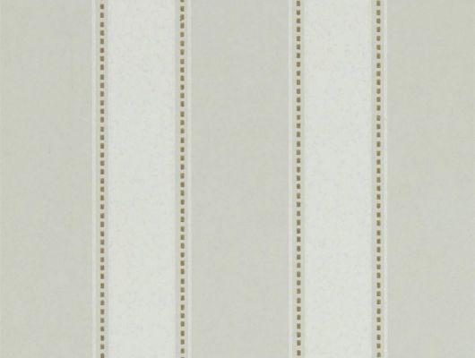 Классическая полоска в бежевых тонах на недорогих обоях  Sonning Stripe из коллекции Littlemore от Sanderson подойдет для ремонта кабинета., Littlemore, Обои для гостиной, Обои для кабинета