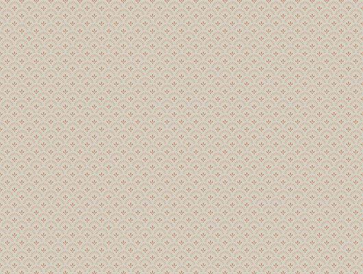 Обои из Швеции коллекция Falsterbo lll от Borastapeter. Рисунок под названием Daisy - маргаритка. Мелкий узор кирпичного оттенка на темно-бежевом фоне. Обои для спальни, для кухни, для гостиной, для коридора. Купить обои,  интернет-магазин, онлайн оплата, бесплатная доставка, большой ассортимент, Falsterbo III, Обои для гостиной, Обои для кухни, Обои для спальни