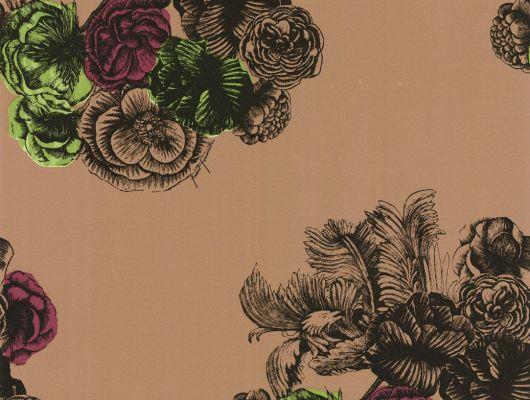 Обои art 77/3008 Флизелин Cole & Son Великобритания, Fornasetti, Английские обои, Архив, Обои для спальни, Распродажа