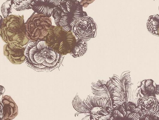 Обои art 77/3009 Флизелин Cole & Son Великобритания, Fornasetti, Английские обои, Архив, Обои для спальни, Распродажа