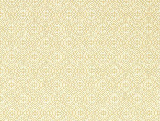 Посмотреть обои для кабинета с легким фоновым геометрическим узором арт.216907/216786  Pinjara Trellis из коллекции Littlemore от Sanderson в интернет-магазине., Littlemore, Обои для гостиной, Обои для кабинета, Обои для кухни, Обои для спальни