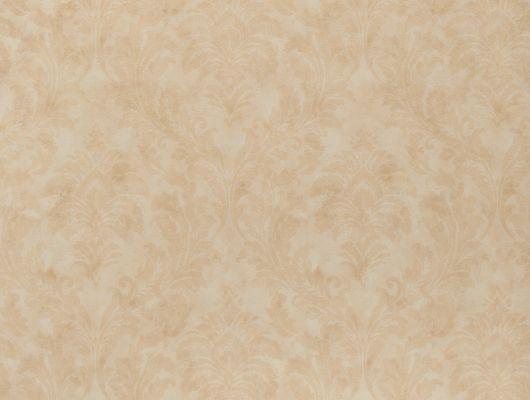 Обои песочного оттенка с классическим орнаментом Дамаск. Метровые виниловые обои на флизелине из Швеции коллекция VINYL от Collection FOR WALLS арт 8012 под названием Katja подойдут для спальни, для гостиной или для кабинета. Бесплатная доставка в интернет-магазине Одизайн., Vinyl CFW, Обои для гостиной, Обои для кабинета, Обои для кухни, Обои для спальни