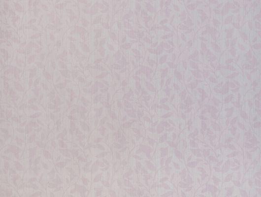 Метровые виниловые обои из Швеции коллекция VINYL от Collection FOR WALLS 8023 под названием  Nina свежего сиреневого цвета с еле заметным растительным узором и блестящими элементами впишутся в любой дизайнерский интерьер можно заказать в интернет магазине с бесплатной доставкой., Vinyl CFW, Обои для гостиной, Обои для кухни, Обои для спальни