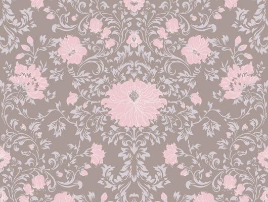 Обои art 81/8032 Флизелин Cole & Son Великобритания, Collection of flowers, Английские обои, Архив, Обои для гостиной, Обои для спальни, Распродажа, Флизелиновые обои
