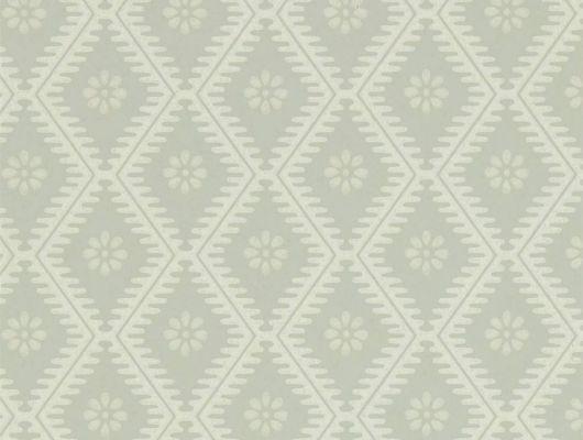 Купить флизелиновые обои с цветочным принтом Witney Daisy арт. 216873 из коллекции Littlemore от Sanderson в салоне в Москве., Littlemore, Обои для гостиной, Обои для кабинета, Обои для спальни