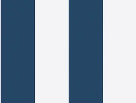 Большие синие полосы на белом фоне, делают обои из коллекции Marstrand ii замечательным компаньонам к синим обоям, Marstrand II, Детские обои, Полосатые обои