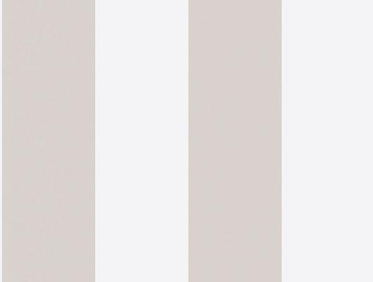 Широкая бежевая полоска на белом фоне является нейтральным компаньоном для любого типа помещений, Marstrand II, Детские обои, Обои для квартиры, Обои для комнаты, Полосатые обои