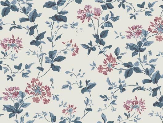 Обои art 91/7029 Флизелин Cole & Son Великобритания, Banbury, Английские обои, Архив, Обои для прихожей, Обои с цветами, Распродажа