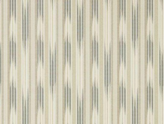 Флизелиновые обои Ishi арт. 216777 из коллекции Caspian, Sanderson.Полосатый узор с текстурным эффектом ткани подойдут для кабинета., Caspian, Обои для гостиной, Обои для кабинета