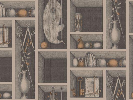 Обои art 97/11035 Флизелин Cole & Son Великобритания, Fornasetti II, Английские обои, Архив, Обои для гостиной, Обои для прихожей, Распродажа