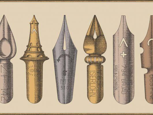 Обои art 97/12040 Флизелин Cole & Son Великобритания, Fornasetti II, Английские обои, Архив, Бордюры для обоев, Распродажа