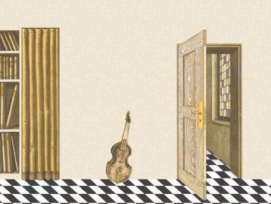 Обои art 97/13041 Флизелин Cole & Son Великобритания, Fornasetti II, Английские обои, Архив, Обои для гостиной, Распродажа