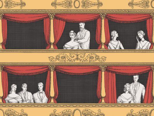 Обои art 97/14042 Флизелин Cole & Son Великобритания, Fornasetti II, Английские обои, Архив, Обои для гостиной, Распродажа