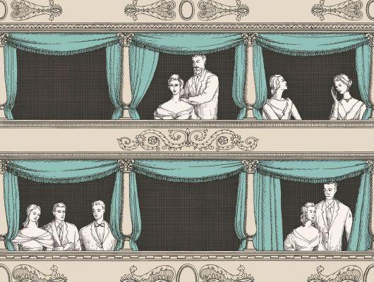 Обои art 97/14043 Флизелин Cole & Son Великобритания, Fornasetti II, Английские обои, Архив, Обои для гостиной, Распродажа