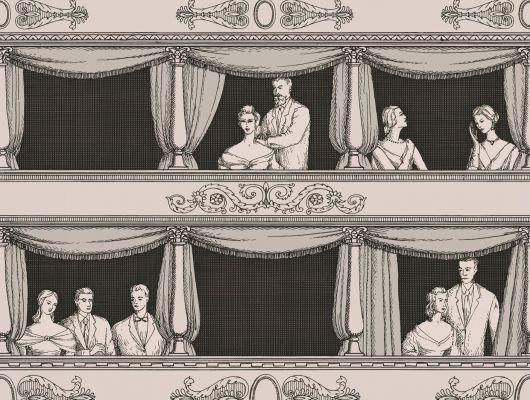 Обои art 97/14044 Флизелин Cole & Son Великобритания, Fornasetti II, Английские обои, Архив, Обои для гостиной, Распродажа