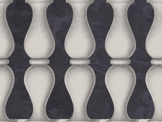 Обои art 97/3009 Флизелин Cole & Son Великобритания, Fornasetti II, Английские обои, Архив, Бордюры для обоев