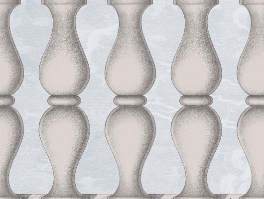 Обои art 97/3010 Флизелин Cole & Son Великобритания, Fornasetti II, Английские обои, Архив, Бордюры для обоев, Распродажа