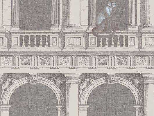 Обои art 97/8022 Флизелин Cole & Son Великобритания, Fornasetti II, Английские обои, Архив, Обои для гостиной, Распродажа