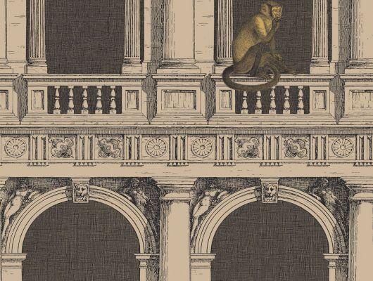 Обои art 97/8025 Флизелин Cole & Son Великобритания, Fornasetti II, Английские обои, Архив, Обои для гостиной, Распродажа