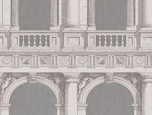 Обои art 97/9026 Флизелин Cole & Son Великобритания, Fornasetti II, Английские обои, Архив, Распродажа