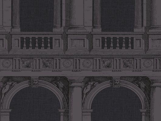 Обои art 97/9027 Флизелин Cole & Son Великобритания, Fornasetti II, Английские обои, Архив, Распродажа