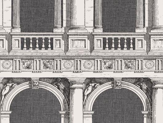 Обои art 97/9028 Флизелин Cole & Son Великобритания, Fornasetti II, Английские обои, Архив, Распродажа