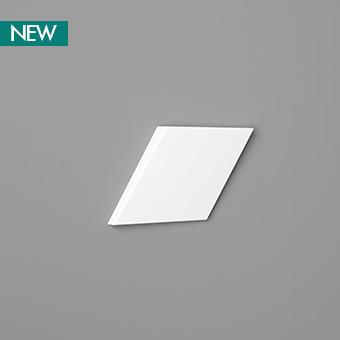 3D Wall Panel W100 - Rombus, 3D Walls Panels, Orac decor, Декоративные элементы, Лепнина и молдинги, Назначение