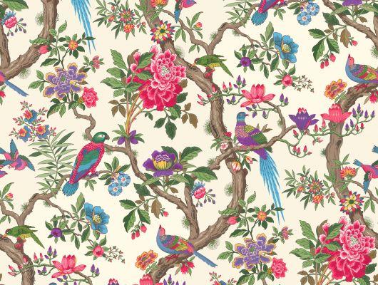 Обои art 99/12050 Флизелин Cole & Son Великобритания, Folie, Английские обои, Обои для гостиной, Обои с цветами, Хиты продаж
