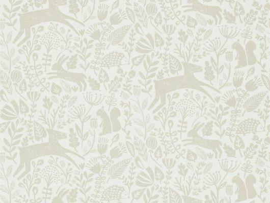 Выбрать дизайнерские обои с животными Kelda  из коллекции Esala от Scion в шоу-руме в Мосвкве, Esala, Обои для гостиной, Обои для спальни
