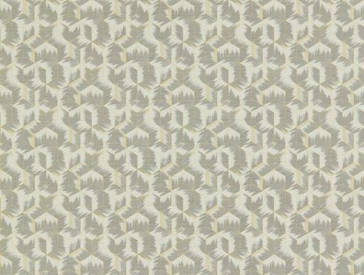 Геометрический рисунок в серых тонах на недорогих обоях 312893 от Zoffany из коллекции Rhombi подойдет для ремонта гостиной Бесплатная доставка , заказать в интернет-магазине, Rhombi, Обои для гостиной, Обои для кабинета