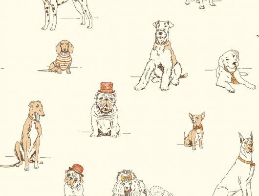 арт. AF1940 Обои бумажные с клеевой основой York - Ashford House Toiles II, купить обои с изображением собак. Доставка.Большой ассортимент.Обои в наличии.Недорого.Фото в интерьере., Ashford House Toiles II, Обои для гостиной, Обои для спальни
