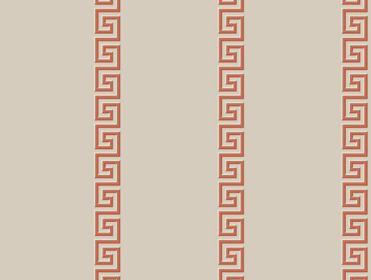 Обои бумажные с клеевой основой York - Ashford House Toiles II, арт.AF1960,пр-во США с геометрическим узором Меандр.Большой ассортимент.В наличии.Доставка, Ashford House Toiles II, Обои для гостиной, Обои для кабинета, Обои для спальни