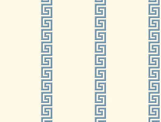 Обои бумажные с клеевой основой York - Ashford House Toiles II, арт.AF1962,пр-во США с геометрическим узором Меандр.Большой ассортимент.В наличии.Доставка.Обои в интерьере, Ashford House Toiles II, Обои для гостиной, Обои для кухни, Обои для спальни
