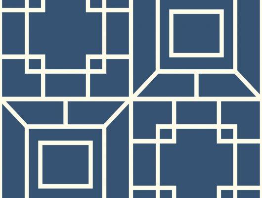 Купить Обои бумажные с клеевой основой York - Ashford House Toiles II,арт.AF1969 в сине-белом цвете.Доставка.Большой ассортимент.Обои в гостиную., Ashford House Toiles II, Обои для гостиной, Обои для кабинета, Обои для кухни, Обои для спальни