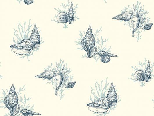 Купить обои бумажные с клеевой основой York - Ashford House Toiles II, арт.AF2012.Морская тема подойдет для кухни или детской комнаты.Заказать обои в Москве., Ashford House Toiles II, Обои для гостиной, Обои для спальни
