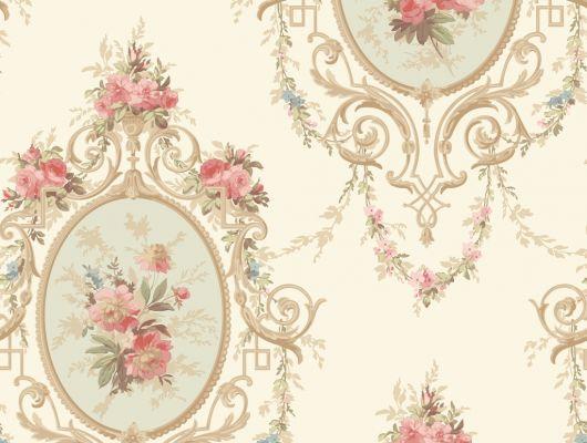 Купить обои бумажные с клеевой основой York -120th Anniversary,арт. AV2803 с цветочным орнаментом в нежных тонах.Для спальни,гостиной. Заказать в интерне-магазине. Доставка в Москве.Обои для стен., 120th Anniversary, Обои для гостиной, Обои для кабинета, Обои для спальни