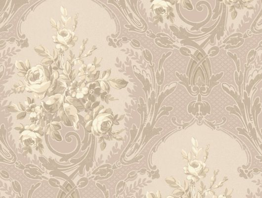 Купить обои бумажные с клеевой основой York -120th Anniversary,арт. AV2876  обои с растительным орнаментом на розовом фоне. Обои с цветочным рисунком. Обои для спальни,гостиной, прихожей. Заказать в интернет-магазине. Доставка в Москве.Обои для стен., 120th Anniversary, Обои для гостиной, Обои для спальни