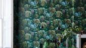 """Обои Cole & Son - """"Forest"""" арт. 115/9028. Бескрайняя чаща фантастических деревьев с использованием широкого спектра зеленых оттенков, что стало возможно благодаря цифровой печати рисунка. Погружают зрителя в атмосферу сказочного леса и мимолетных фантазий. Английские обои, Обои Cole & Son, Каталог обоев"""