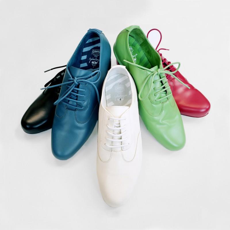 Разноцветные ботинки от Джейме Айона