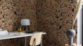 Флизелиновые фотопанно из Швеции коллекция CAPTURED REALITY No 2 от Mr.PERSWALL под названием CORK WALL. Панно имитирующее стену из пробкового дерева. Фотообои для гостиной, панно для спальни, фотопанно для коридора. Купить обои онлайн, большой ассортимент, бесплатная доставка