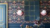 """Английские флизелиновые обои, арт. 118/14033 """"Library Frieze"""", бренда Cole & Son , из коллекции Great Masters . Бордюр для гостиной, в виде библиотечных фризов- является главным элементом архитектуры . Купить в Москве с бесплатной доставкой, широкий ассортимент."""