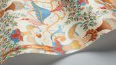 """Английские флизелиновые обои, арт. 118/12028 """"Chamber Angels"""", бренда Cole & Son , из коллекции Great Masters . Обои в гостиную, с ярким историческим рисунком, с изображением Ангелов на молочном фоне. Купить в Москве с бесплатной доставкой, широкий ассортимент."""