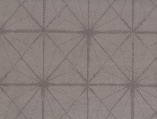 """Английские обои на флизелиновой основе, """"FUJI Asami"""" Fardis™,арт. 10055.Купить в интернет-магазине.Для спальни,гостиной с геометрическим узором,серые., FUJI, Обои для гостиной, Обои для спальни, Флоковые обои"""