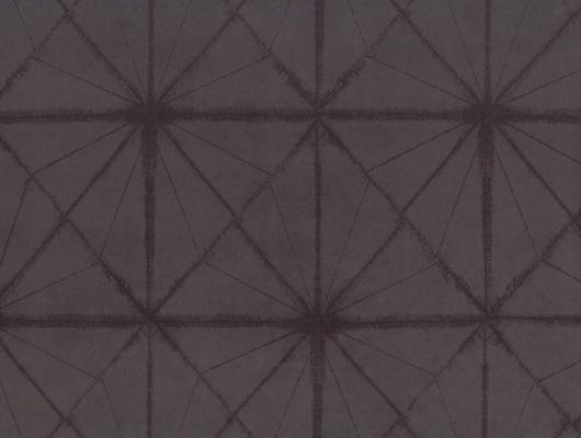 """Английские обои на флизелиновой основе, """"FUJI Asami"""" Fardis™,арт. 10057.Купить в интернет-магазине.Для спальни,гостиной с геометрическим узором,коричневые., FUJI, Обои для гостиной, Обои для спальни, Флоковые обои"""